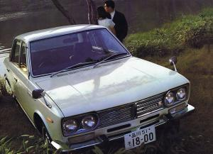 Nissan Laurel Sedan 1968 года